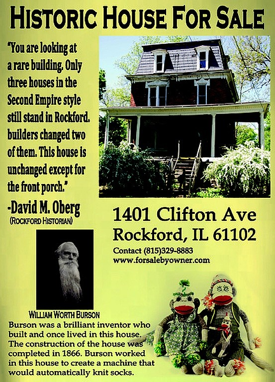 rockford's oldest house for sale history