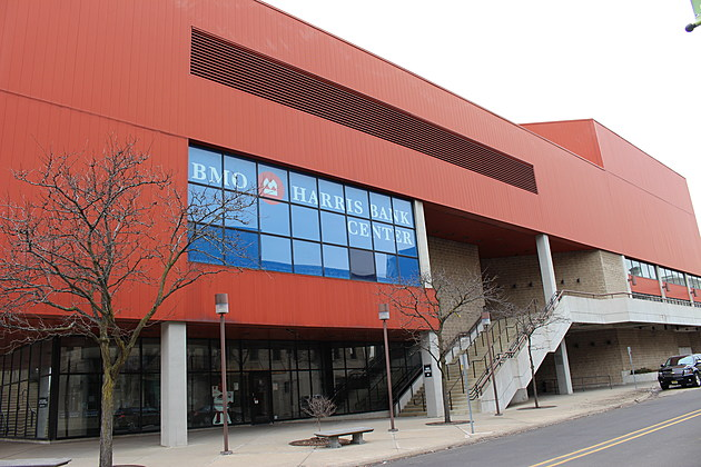 BMO Harris Bank Center in downtown Rockford is home of the Rockford IceHogs.