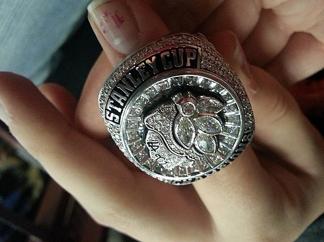 Double T - 2015 Chicago Blackhawks Championship Ring