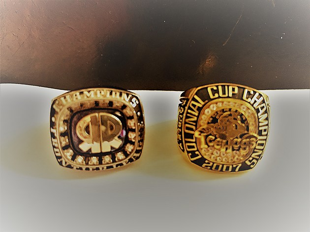 Double T - Rockford Riverhawks & Rockford IceHogs Champion Rings