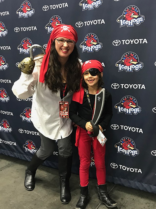 Pirate and Princess Night with the Rockford IceHogs